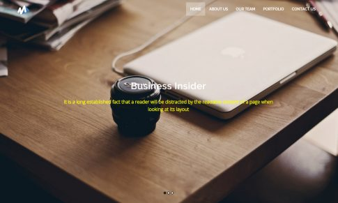 Learn Bootstrap 3 With Multi Purposes Single Page Theme